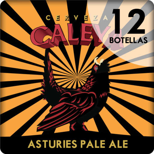 Caja de 12 botellas de Asturies Pale Ale