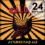 Caja de 24 botellas de Asturies Pale Ale